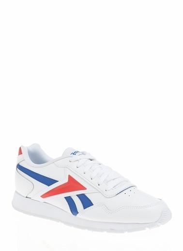 Reebok Reebok FW6706 Royal Glide Deri Vector Tamlı Bağcıklı Erkek Koşu Ayakkabı Beyaz